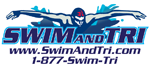 Blue Swim and Tri Logo